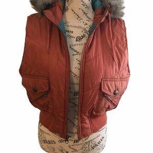 Miss Lilly fur trimmed vest